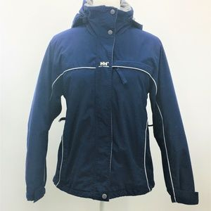 Helly Hansen Hooded Ski/Snow Jacket Navy Blue